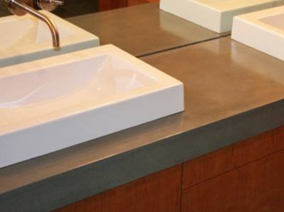 Custom Concrete Countertop Installation In Houston
