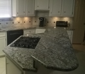 Lennon Granite Countertop And Island