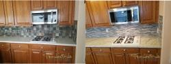 Before After Granite Countertop Houston