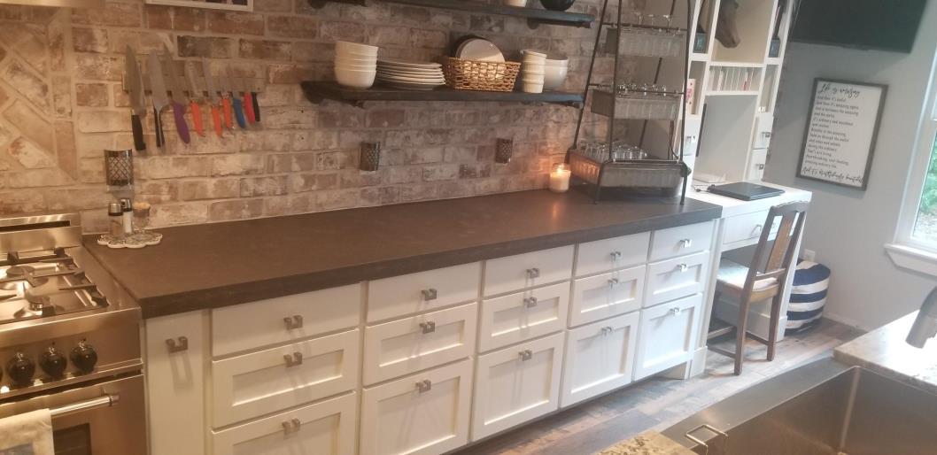 ... Concrete Countertop Cabinets Memorial Houston 5 ...