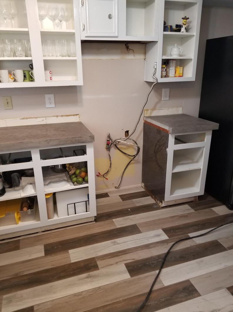 Custom Concrete Countertop Job Northwest Houston